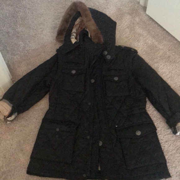 Burberry Jackets Coats Boys Quilted Jacket Size 8y Poshmark